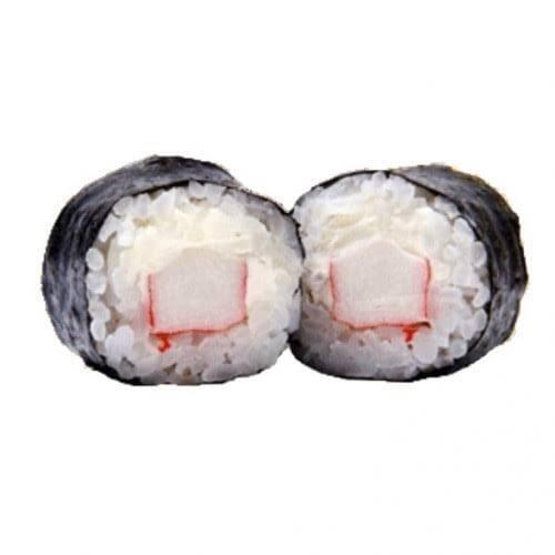 Maki de kani com cream cheese 2 peças