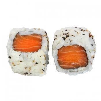 Uramaki de salmão 2 peças