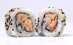 Uramaki de salmão grelhado 2 peças