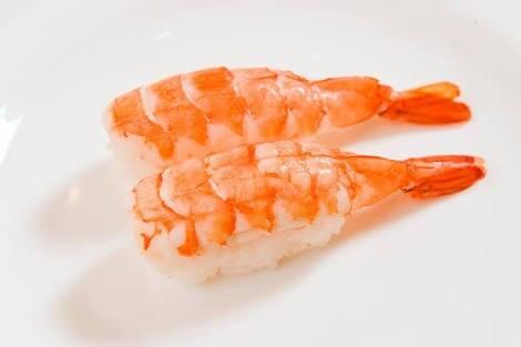 Niguiri de camarão