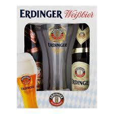 Kit cerveja erdinger 02 cervejas e 01 taça