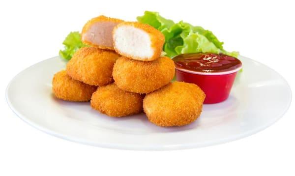 Porção de nuggets