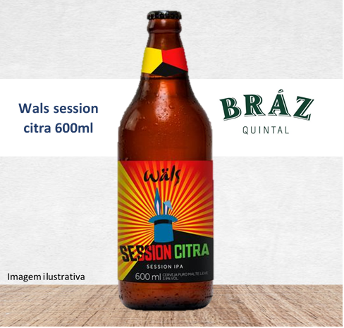 Wals session citra 600ml - brasil