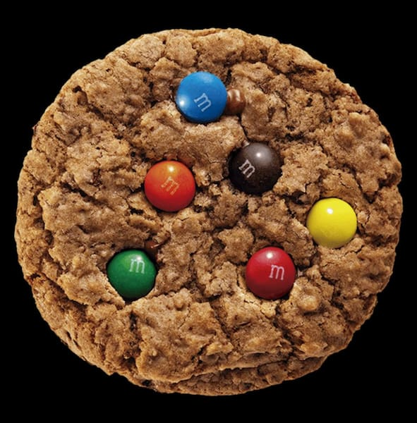 Chocolate chips with M&M's