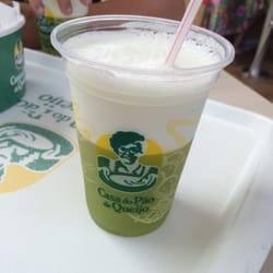 Suco de abacaxi com hortelã água 300ml