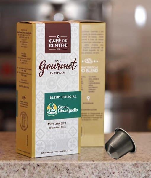 Café gourmet em cápsula (Nespresso)