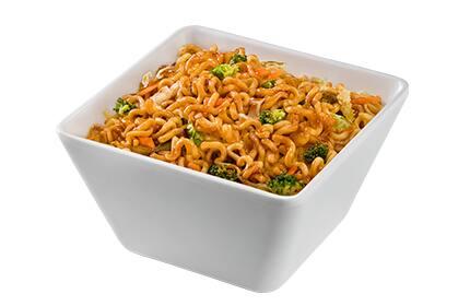 Yakisoba de legumes - meia porção