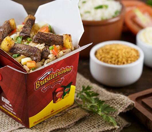 Box gaúcho - picanha bovina