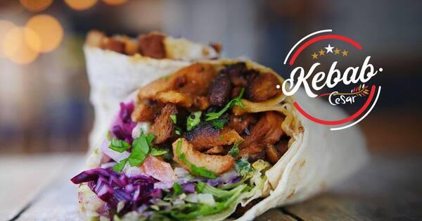 Kebab de pernil - (o mais pedido).