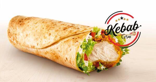 Doner kebab de frango