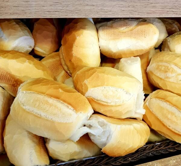 6 pães francês