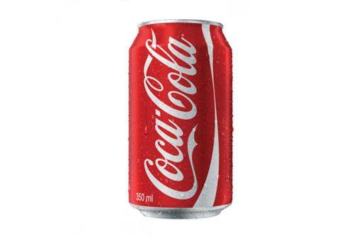 Refrigerante coca cola lata