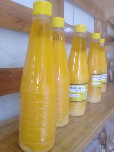 Manteiga garrafa 500g