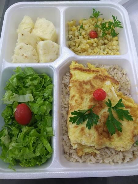 Fitness omelete