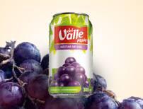 Suco Del Valle mais lata - uva