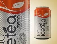 Chá gelado - leão ice tea pêssego zero