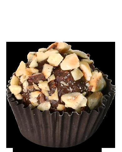 Brigadeiro gourmet Nutella com avelã