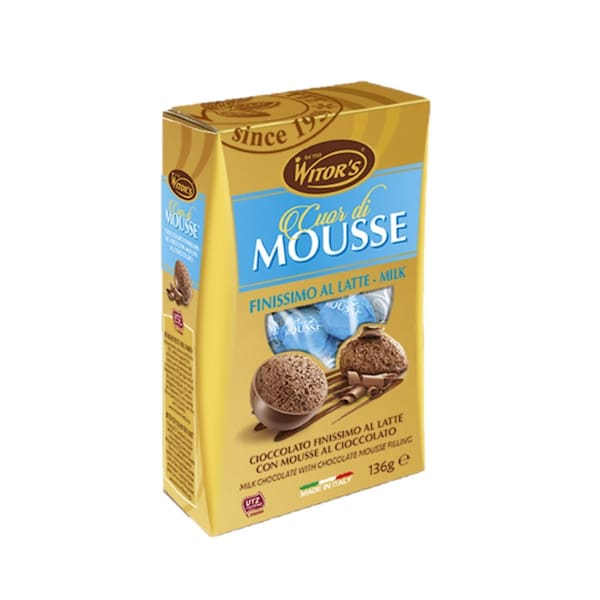 Bombons witor's cuor di mousse latte 140g