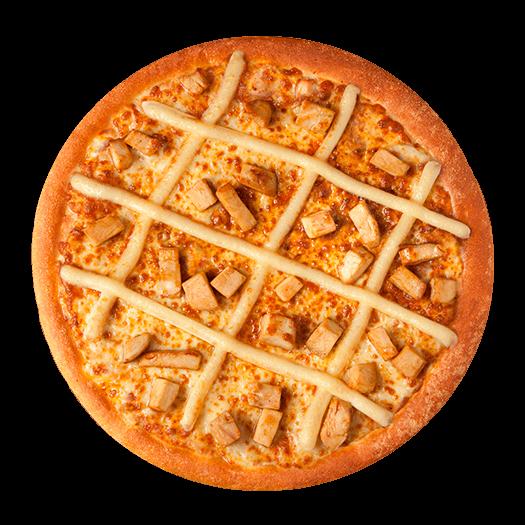 Pizza de frango com requeijão - grande 12 fatias 31cm