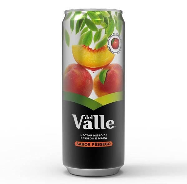 Suco Del Valle pêssego lata
