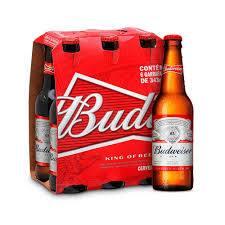 12 Budweiser343 ml   long neck(desconto de 30%) promocao de natal