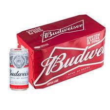 16 Budweiser 269 ml lata(desconto de 34%)