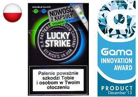 Lucky strike verde ou azul e verde