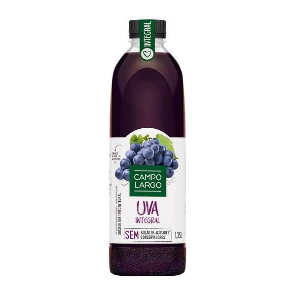 suco de uva integral 1, 35 litros