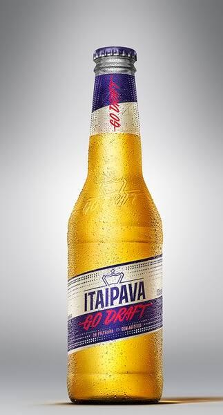 Cerveja Itaipava go draft300 ml long neckl (caixa 12 unidades)