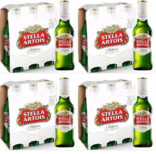 Cerveja stella artoiis 550 ml
