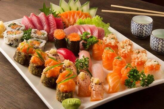 Combinado Misto (atum e salmão)
