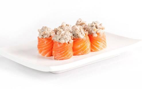 Dyo´s de salmão com shimeji - 10 unidades