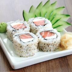 Uramaki de salmão - 8 unidades