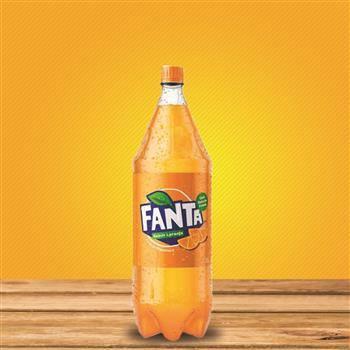 Fanta laranja 1 litro