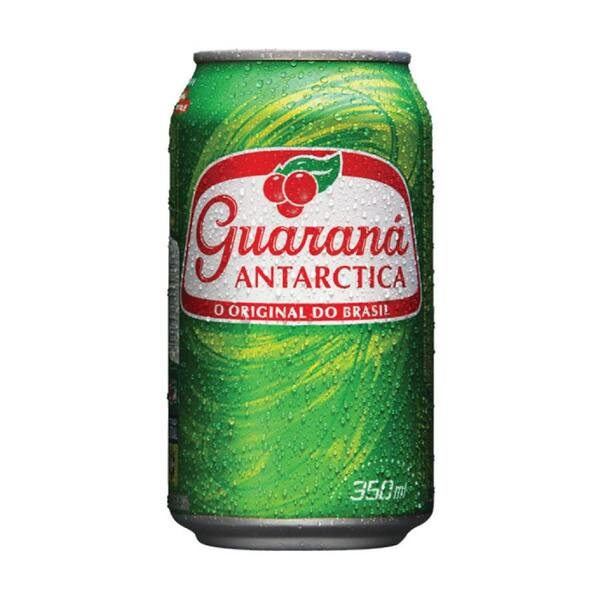Guarana Antarctica lata 350ml