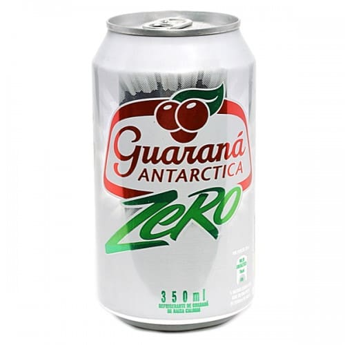 Guarana Antarctica zero lata 350ml