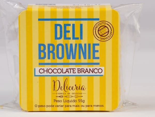 Brownie chocolate branco