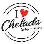 Logotipo I Love Chelada Exito Wow