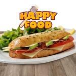 Logotipo Happy Food del Valle