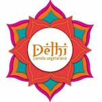 Logotipo Delhi Comida Vegetariana