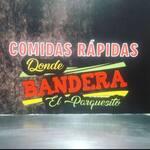Logotipo Donde Bandera