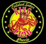 Logotipo King Crab mariscos