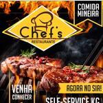 Logotipo Chef's Restaurante Comida Mineira
