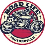 Logotipo Road Life Motorcycles