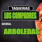 Logotipo Taquerias Los Compadres Arboledas