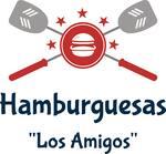 Logotipo Hamburguesas Los Amigos