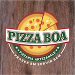 Logotipo Pizza Boa