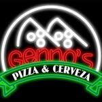 Logotipo Genno's Pizza & Cerveza