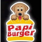 Logotipo Papi Burger