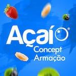 Logotipo Açaí Concept - Walmart Armação
